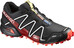 Salomon Unisex Spikecross 3 CS Shoes Black/Radiant Red/White